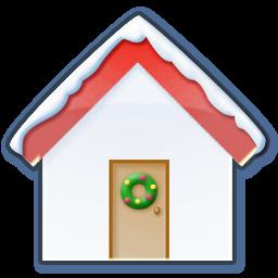 home snow icon