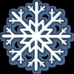 white snow icon