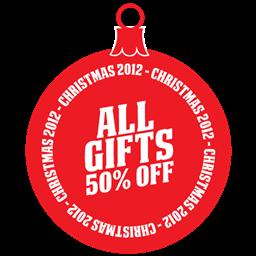 すべての贈り物の50パーセントのアイコンを すべてのおくりものの50ぱ せんとのあいこんを Ico Png Icns 無料のアイコンをダウンロード