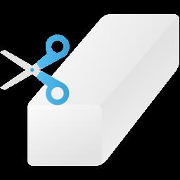 Background eraser tool icon