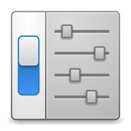 Categories preferences desktop icon