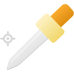 Color sampler tool icon