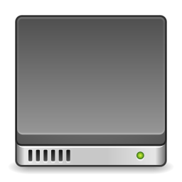 Devices drive harddisk icon