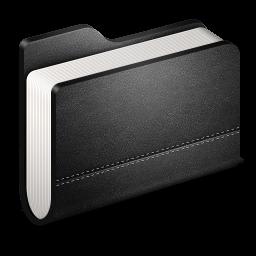 黒のフォルダのアイコンライブラリ くろのふぉるだのあいこんらいぶらり Ico Png Icns 無料のアイコンをダウンロード