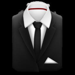 マネージャーのスーツに黒のネクタイのアイコン まね じゃ のす つにくろのねくたいのあいこん Ico Png Icns 無料のアイコンをダウンロード