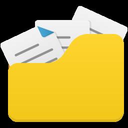 Open folder full icon
