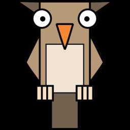 フクロウのアイコン ふくろうのあいこん Ico Png Icns 無料のアイコンをダウンロード