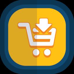 Shoppingcart 09下矢印アイコン Shoppingcart 09したやじるしあいこん Ico Png Icns 無料 のアイコンをダウンロード