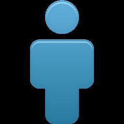 ユーザーの青いアイコン ゆ ざ のあおいあいこん Ico Png Icns 無料のアイコンをダウンロード