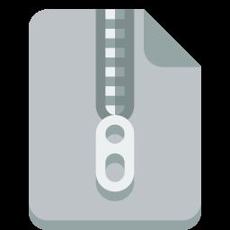 Zipファイルのアイコンを Zipふぁいるのあいこんを Ico Png Icns 無料のアイコンをダウンロード