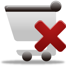 ショッピングカートのアイコンを削除する しょっぴんぐか とのあいこんをさくじょする Ico Png Icns 無料のアイコンをダウンロード