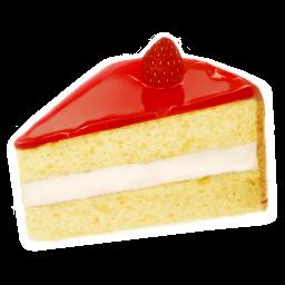 イチゴケーキのアイコン いちごけ きのあいこん Ico Png Icns 無料のアイコンをダウンロード
