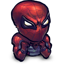 スパイダーマンの赤ちゃん漫画アイコン すぱいだ まんのあかちゃんまんがあいこん Ico Png Icns 無料のアイコンをダウンロード