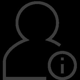 ユーザー情報のアイコン ゆ ざ じょうほうのあいこん Ico Png Icns 無料のアイコンをダウンロード