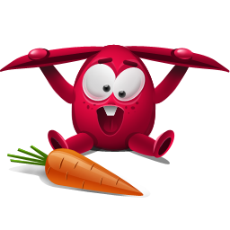 赤いウサギアイコン あかいうさぎあいこん Ico Png Icns 無料のアイコンをダウンロード