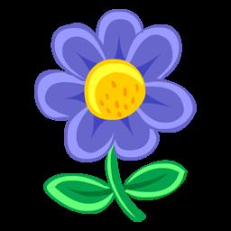 青い花のアイコン あおいはなのあいこん Ico Png Icns 無料のアイコンをダウンロード
