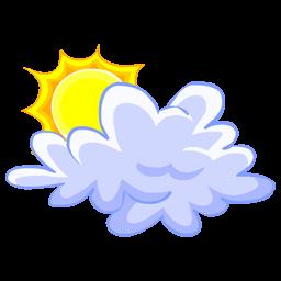 雲と太陽のアイコン くもとたいようのあいこん Ico Png Icns 無料のアイコンをダウンロード