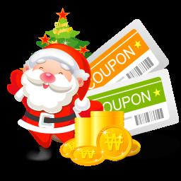 クリスマスクーポンのアイコン くりすますく ぽんのあいこん Ico Png Icns 無料のアイコンをダウンロード