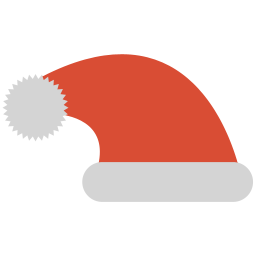 サンタ帽子アイコン さんたぼうしあいこん Ico Png Icns 無料のアイコンをダウンロード