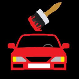車の塗装のアイコン くるまのとそうのあいこん Ico Png Icns 無料のアイコンをダウンロード