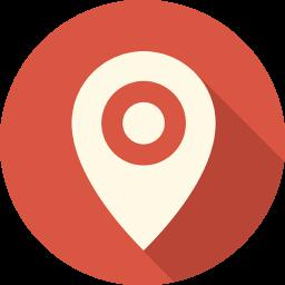 場所地図のピンのアイコン ばしょちずのぴんのあいこん Ico Png Icns 無料のアイコンをダウンロード