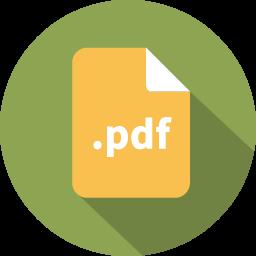 Pdf文書ファイルのアイコンを Pdfぶんしょふぁいるのあいこんを Ico Png Icns 無料のアイコンをダウンロード
