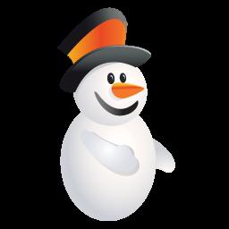 クリスマス雪だるまのアイコン くりすますゆきだるまのあいこん Ico Png Icns 無料のアイコンをダウンロード