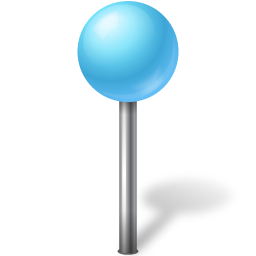 マップマーカーボール空色のアイコン まっぷま か ぼ るそらいろのあいこん Ico Png Icns 無料のアイコンをダウンロード