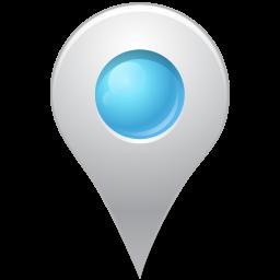 空色のアイコンの中にマップマーカー そらいろのあいこんのなかにまっぷま か Ico Png Icns 無料のアイコンをダウンロード