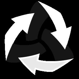 矢印アイコンをゴミ箱を空に やじるしあいこんをごみばこをそらに Ico Png Icns 無料のアイコンをダウンロード