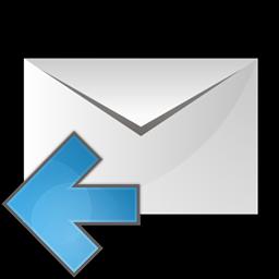 メールのアイコンの左矢印 め るのあいこんのひだりやじるし Ico Png Icns 無料のアイコンをダウンロード