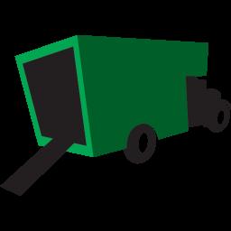 トラックの緑のアイコン とらっくのみどりのあいこん Ico Png Icns 無料のアイコンをダウンロード