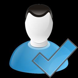 チェックユーザーのアイコン ちぇっくゆ ざ のあいこん Ico Png Icns 無料のアイコンをダウンロード