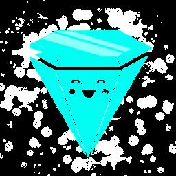 ダイヤモンドの青いアイコン絶賛 だいやもんどのあおいあいこんぜっさん Ico Png Icns 無料のアイコンをダウンロード