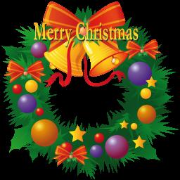 クリスマスリースのアイコン くりすますり すのあいこん Ico Png Icns 無料のアイコンをダウンロード