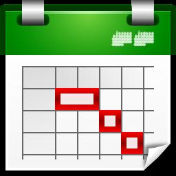カレンダーアイコン Yoaikonmaneh