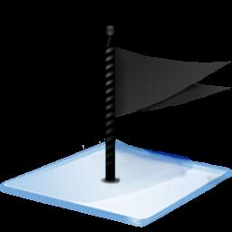 窓7旗ブラックアイコン まど7きぶらっくあいこん Ico Png Icns 無料のアイコンをダウンロード