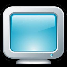 コンピュータ モニタ アイコン こんぴゅ た もにた あいこん Ico Png Icns 無料のアイコンをダウンロード