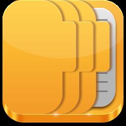 フォルダデータアイコン Ico Png Icns 無料のアイコンをダウンロード