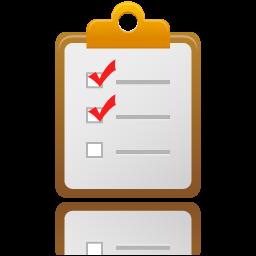 チェックリストのアイコン Ico Png Icns 無料のアイコンをダウンロード