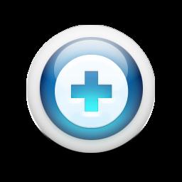 光沢のある3d青orbs2 037アイコン Ico Png Icns 無料のアイコンをダウンロード