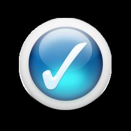 光沢のある3d青orbs2 042アイコン Ico Png Icns 無料のアイコンをダウンロード